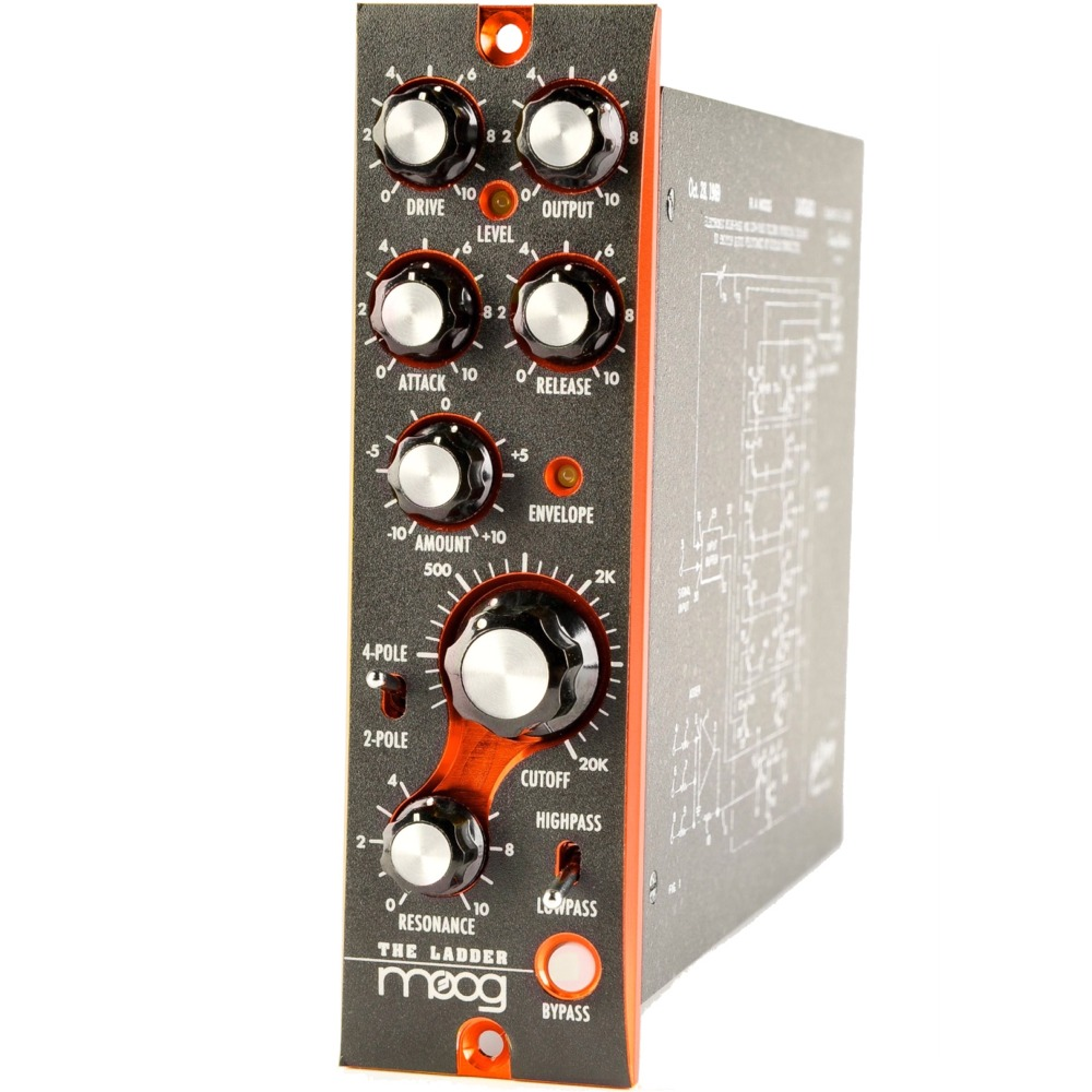 Moog 500 Series The Ladder Filter