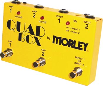 Morley Quad Mix Selector Combiner Guitar Amp Switch