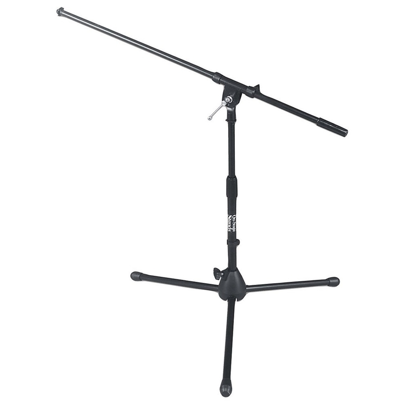 On-Stage Stands MS7411B Kick Drum/Amp Microphone Stand with Tripod Base and Boom