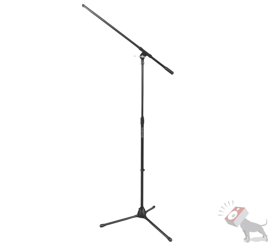 "On-Stage Stands MS7701 Euro 30"" Boom Tripod Telescoping Microphone Mic Stand"