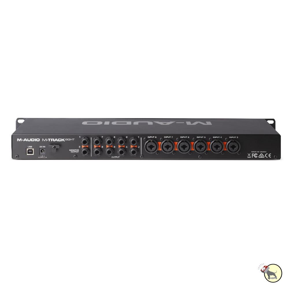 m audio m track 8 eight high resolution usb interface octane preamp technology ebay. Black Bedroom Furniture Sets. Home Design Ideas