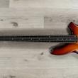 Ernie Ball Music Man BFR Bongo 5 HH 5-String Bass, Ebony Fretboard, Satin Honey Burst
