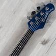 Ernie Ball Music Man BFR StingRay Special 5H Bass, Ebony, Kinetic Blue