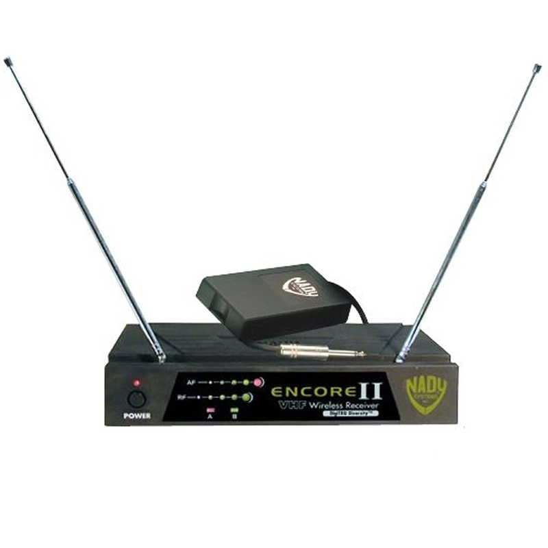 Nady Encore 2 II GT Wireless Instrument System Guitar/Bass WLT/WGT Channel G1