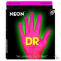 DR Strings NPB-45 K3 Neon Hi-Def Pink Coated Medium Electric Bass Strings (45-105)