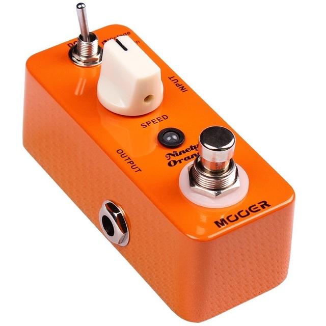 Mooer Ninety Orange Phaser Guitar effects  true bypass pedal