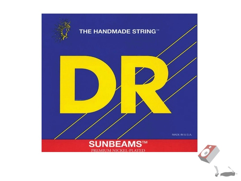 DR Strings Sunbeams NMR-45 Medium 4 String Bass Strings (45-100)