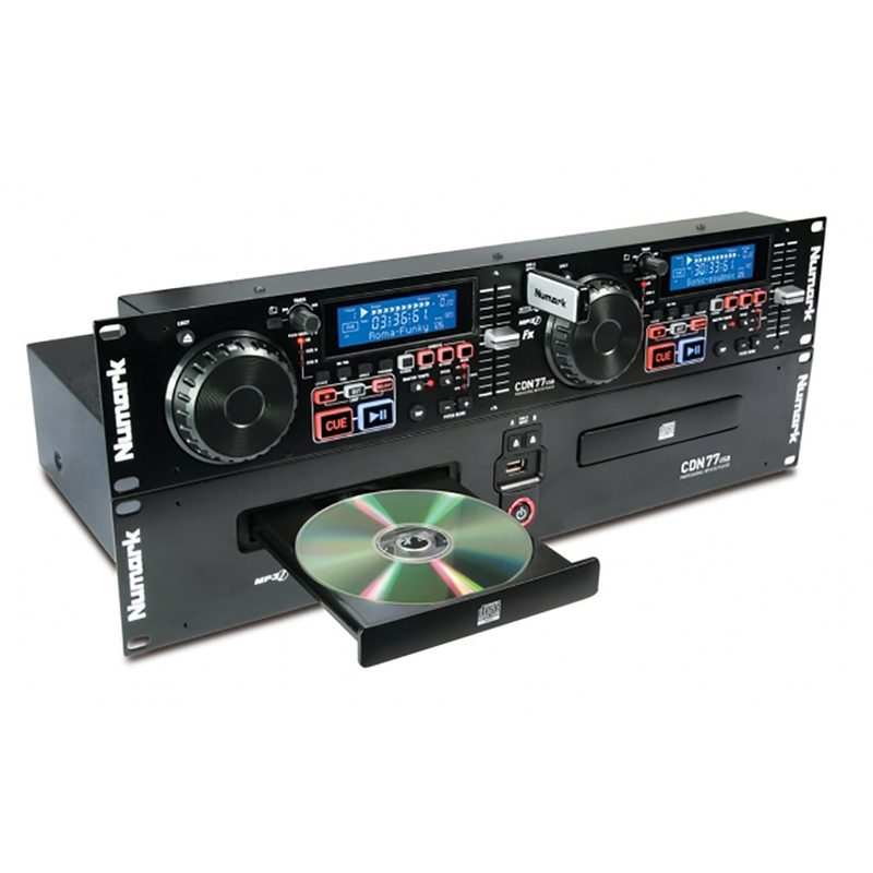 Numark CDN77USB Professional Dual USB/CD/MP3 CD Player