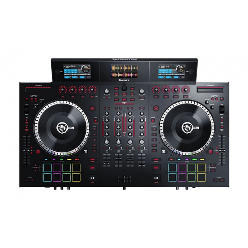 Numark NS7III (NS7 3) 4-Channel DJ Performance Serato Direct Drive Controller