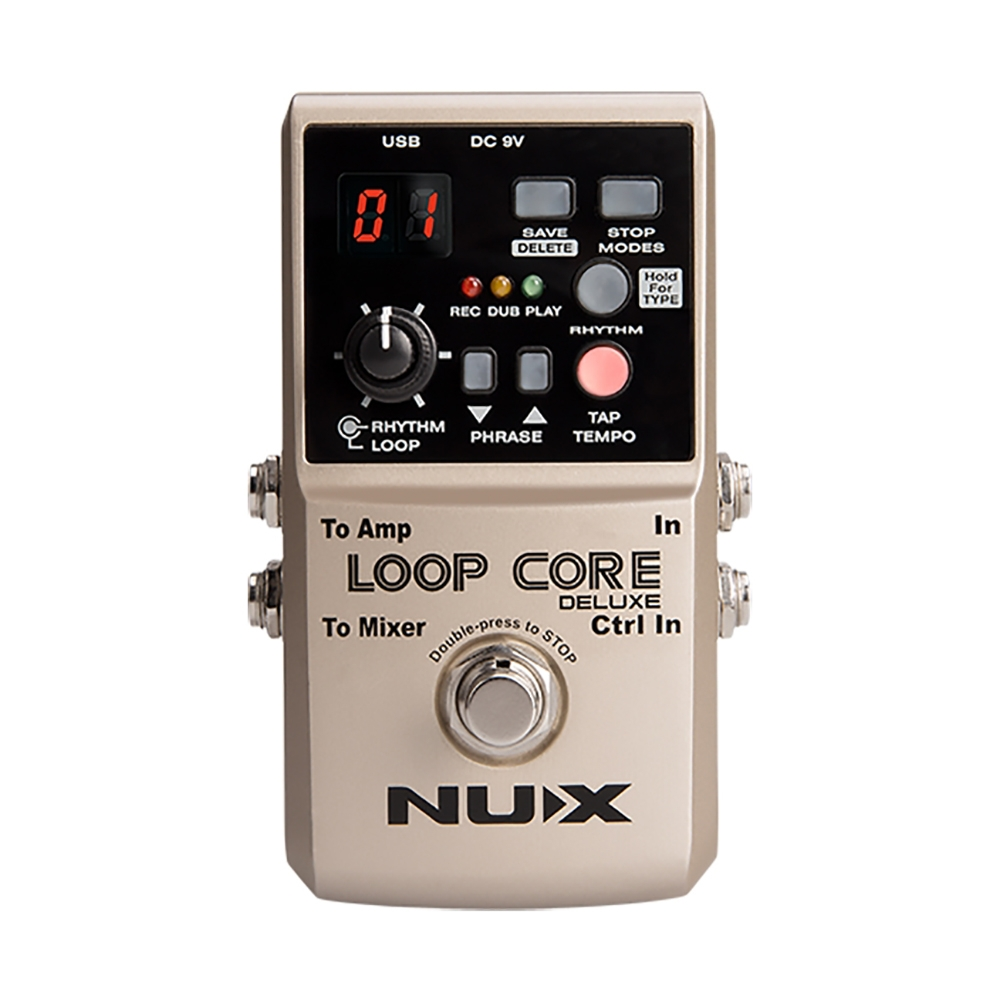 Modules and Effect pedals NUX NMP-2 Dual FootSwitch for Keyboard
