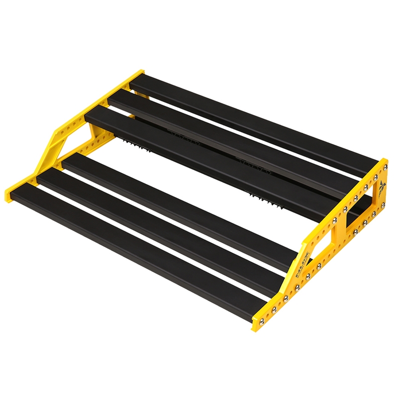 NuX EFX NPB-L (Large) Bumblebee Guitar Effects Pedalboard w/ Bag, 13x18x4 Inches