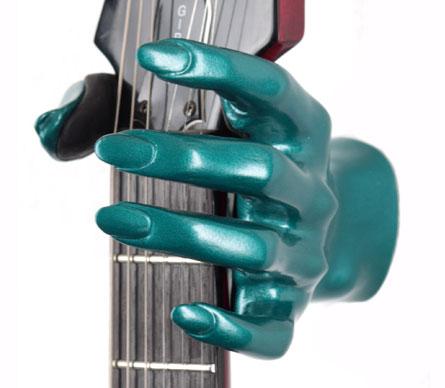 Guitar Grip GSL Series Guitar Hanger  (Ocean Turquoise)