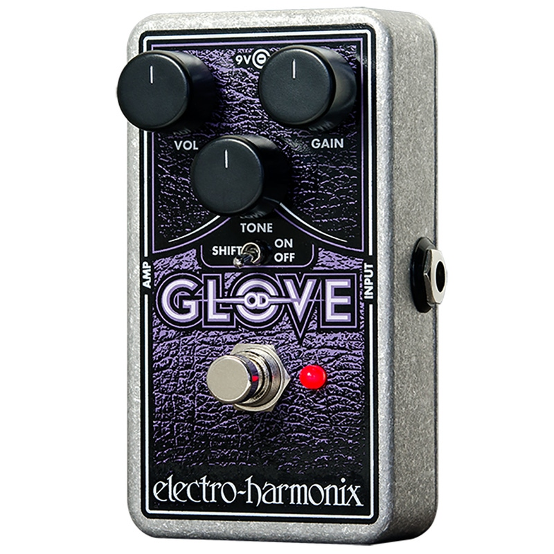 Electro-Harmonix OD Glove Overdrive Distortion Guitar Effect Pedal