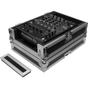 "Odyssey FZ12MIXXD Flight Zone Series Pro-Duty Universal 12"" DJ Mixer Case with Extra Deep Rear Cable Space"
