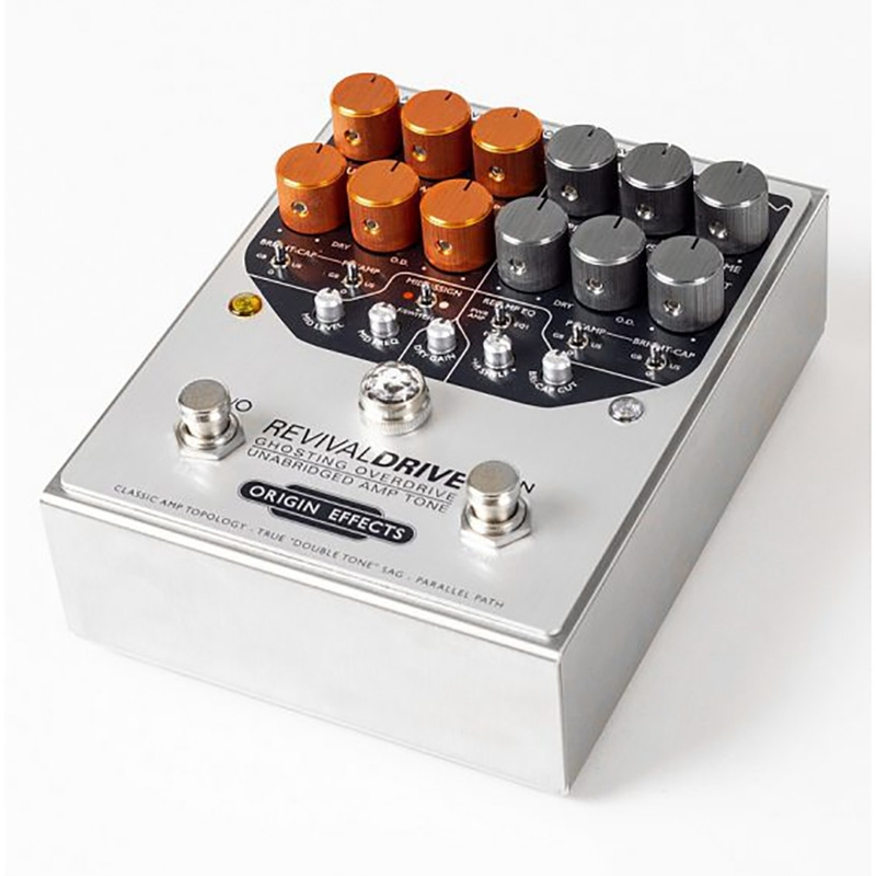 Origin Effects RevivalDRIVE Ghosting Overdrive Guitar Effects Pedal