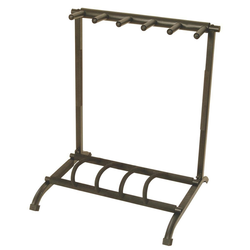 On-Stage Stands GS7561 Foldable 5-Guitar Rack Stand