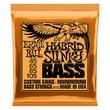 Ernie Ball 2833 Hybrid Slinky Nickel Wound Electric Bass Strings (45-105)