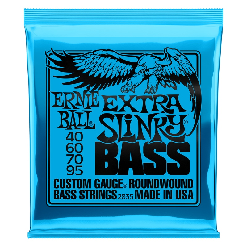 Ernie Ball 2835 Extra Slinky Electric Bass Strings (40-95)