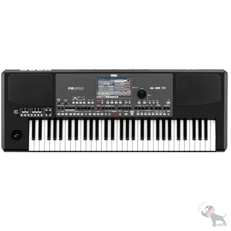 Korg PA600QT 61-Key Arranger Keyboard Workstation Keys Quarter Tone PA600 QT