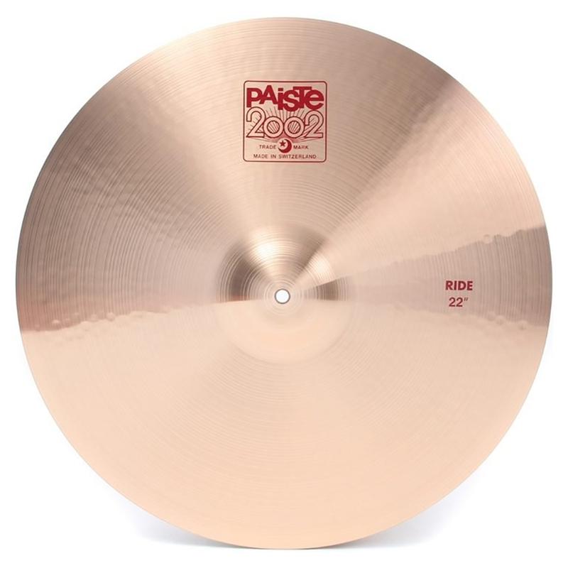 """Paiste 2002 Ride Cymbal - 22"""""""