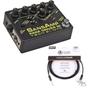 Tech 21 SansAmp Para Driver DI Preamp Guitar Bass Effects Pedal & 10' Cable