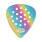 10 Pickboy PB44RP075 Pos-A-Grip Rainbow Cellulose Guitar Picks 0.75MM