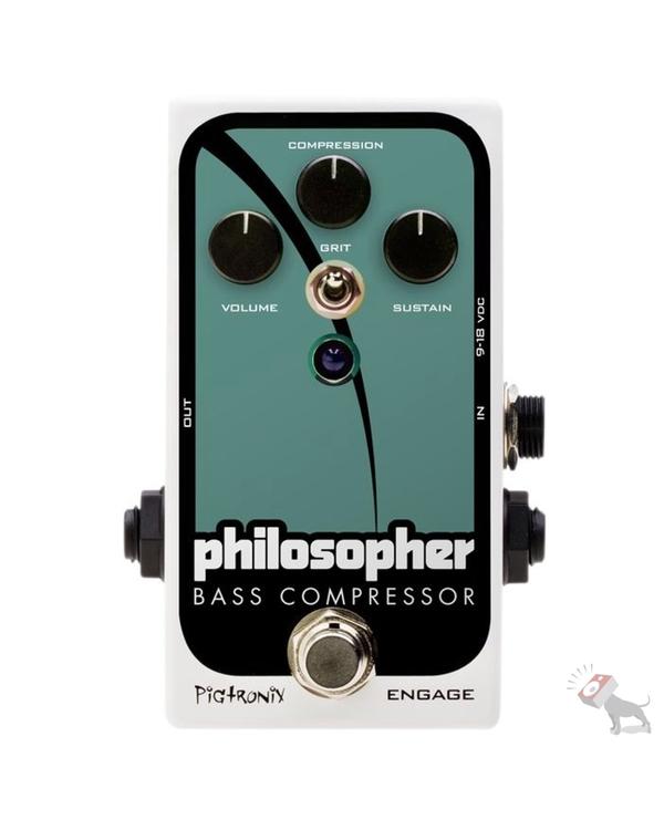 Pigtronix PBC Philosopher Bass Compressor Pedal