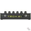 Tech 21 SansAmp 3-Ch Programmable Bass Driver DI Effects Pedal & 2 FREE Cables
