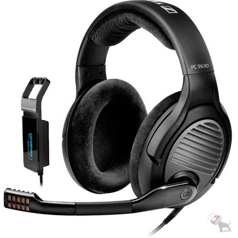 Sennheiser PC-363D Surround Sound 7.1 Professional PC Gaming Headset
