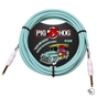 Pig Hog PCH20SG Seafoam Green Instrument Cable 20ft