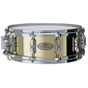 Pearl Drums RFB1450 Reference Brass Snare Drum, 14x5, MasterCast Hoops