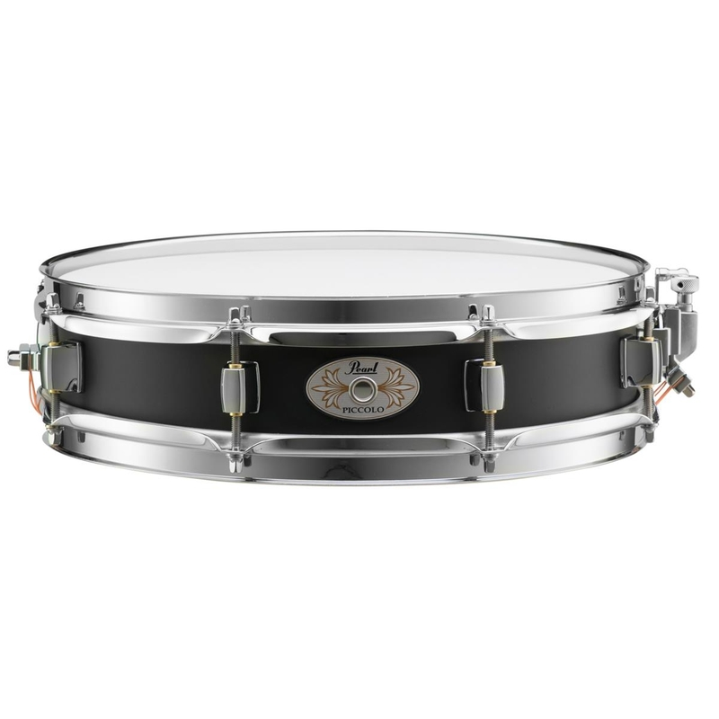 Pearl Drums S1330B Effect Steel Piccolo Snare Drum, 13x3