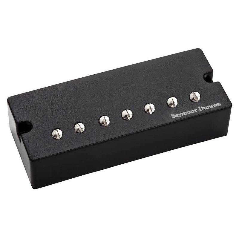 Seymour Duncan 7-String Sentient Active Mount with Black Soapbar Covers Humbucker