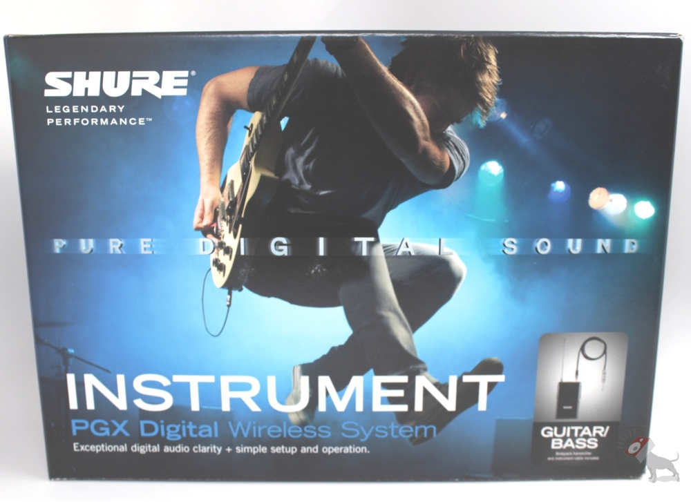 Shure PGXD14 Wireless Microphone System Guitar/Bass Microphone PGXD 14
