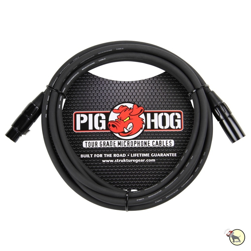 Pig Hog PHM10 8mm Microphone XLR Cable 10ft