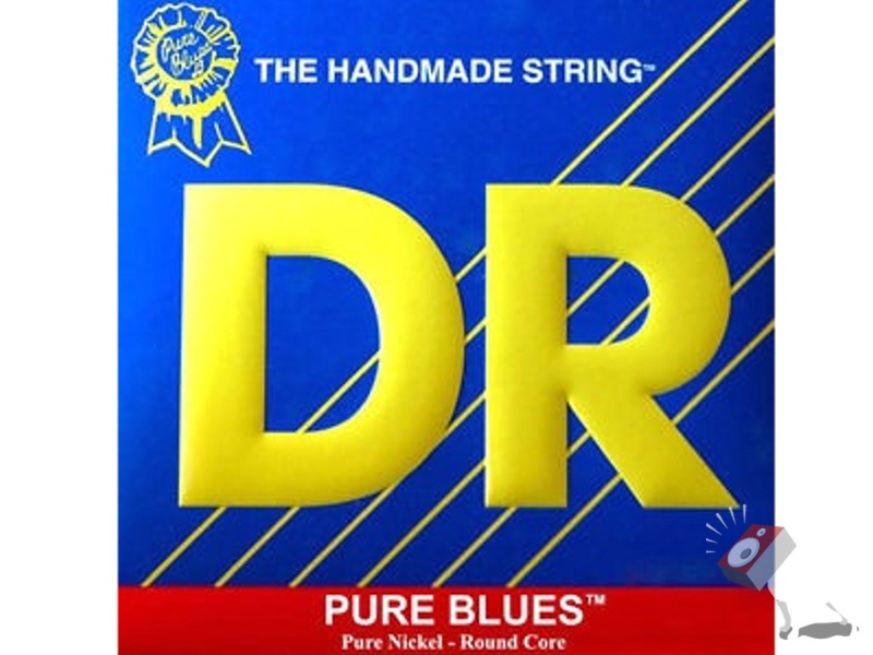 DR Strings PHR-12 Pure Blues Extra Heavy Electric Guitar Strings With Plain Third