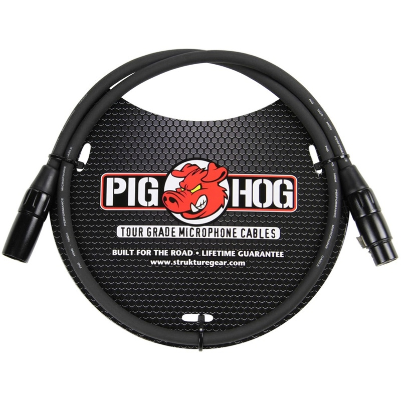 Pig Hog 3ft Mic Cable