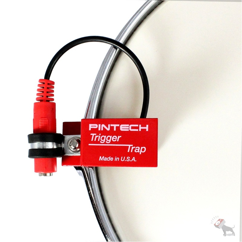 Pintech RS5T Acoustic Drum Trigger with Trigger Trap