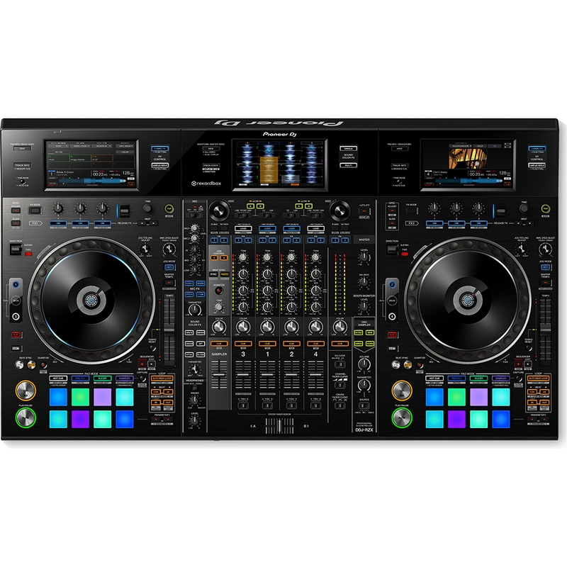 Pioneer DDJ-RZX Professional 4-Channel Rekordbox DJ Controller with Touch Screens