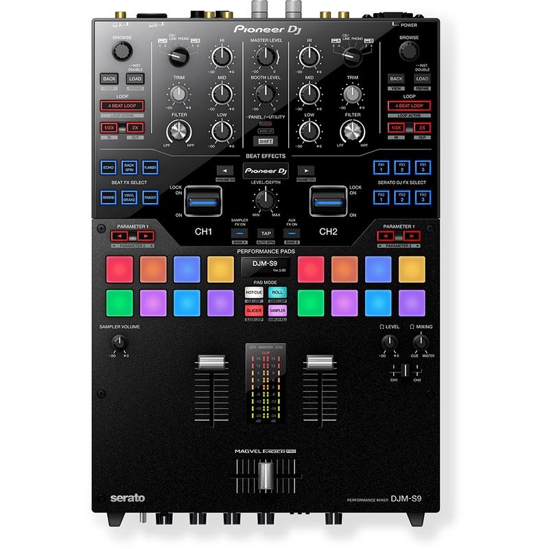 Pioneer DJM-S9 High Performance 2-Channel Serato DJ Mixer