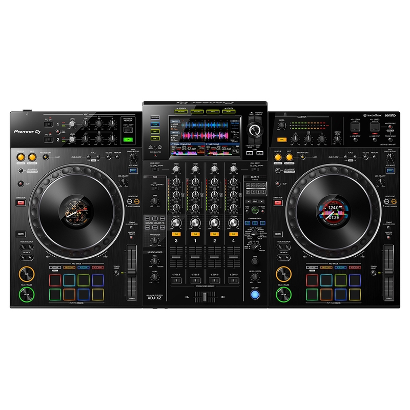 Pioneer DJ XDJ-XZ Profesional All-In-One DJ System w/ Effects and 16 Performance Pad Triggers