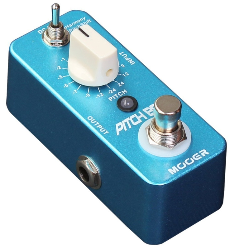 Mooer Pitch Box True Bypass Effect harmony Guitar Pedal
