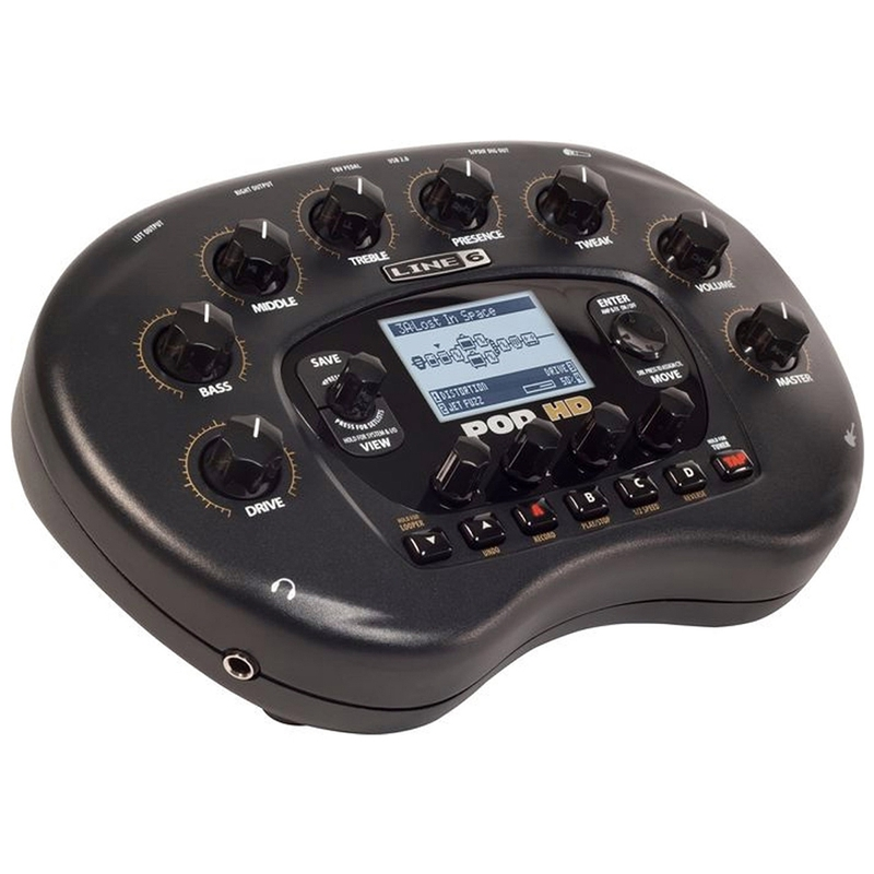 Line 6 POD HD Desktop Direct Multi Effects Guitar Processor Recording
