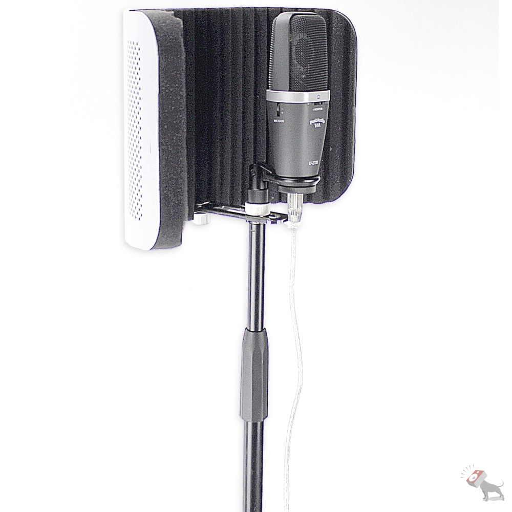 post audio arf 59 reflection microphone filter with isolated shock mounted stand ebay. Black Bedroom Furniture Sets. Home Design Ideas