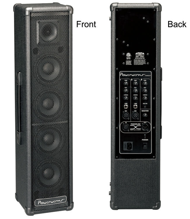 PowerWerks PW100BT 100-Watt Complete Portable Personal PA System w/ Bluetooth