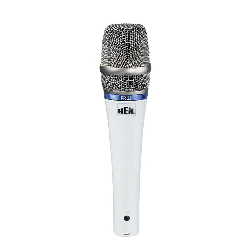 Heil Sound PR-22 Microphone and Mic Case - White