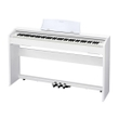 Casio Music Privia PX-770 Digital Piano Keyboard, White (PX-770WE)