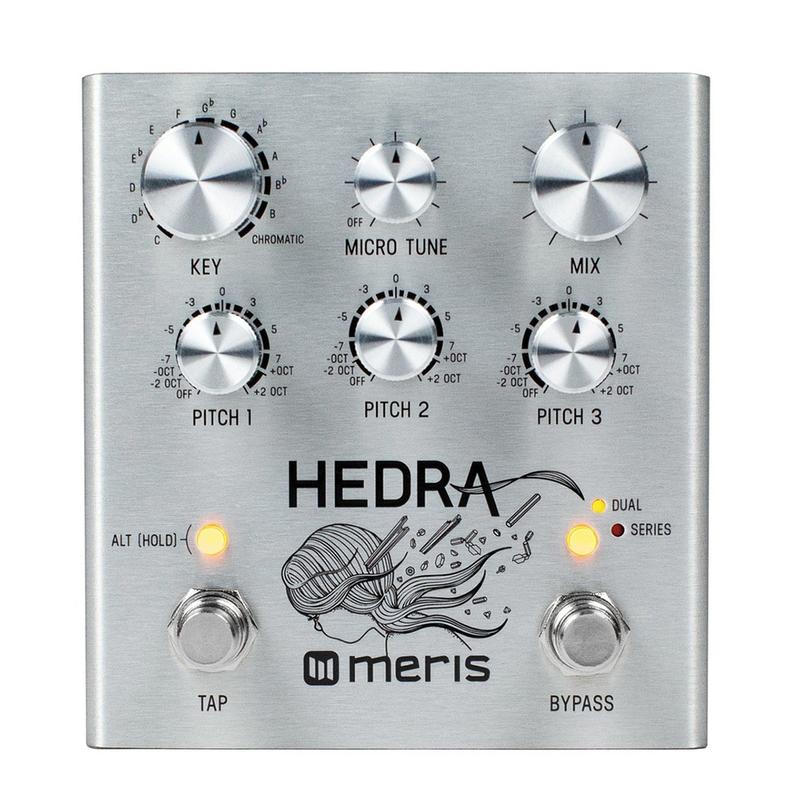 Meris Hedra 3-Voice Rhythmic Pitch Shift Guitar Effects Pedal