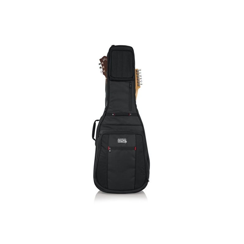 Gator Cases G-PG-ACOUELECT Pro-Go Acoustic/Electric Double Gig Bag