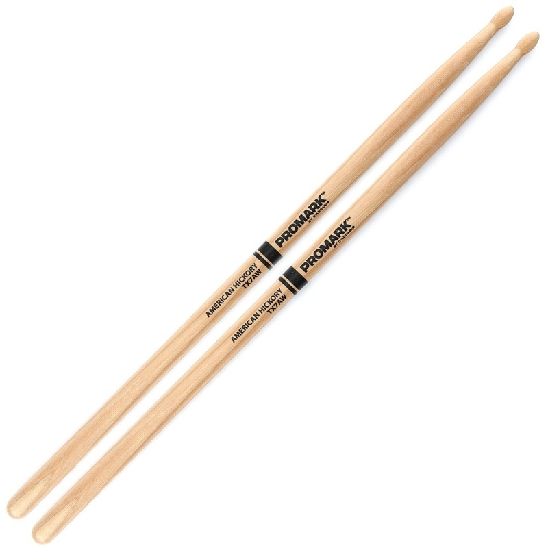 Pro-Mark TX7AW Hickory 7A Wood Tip Drumsticks
